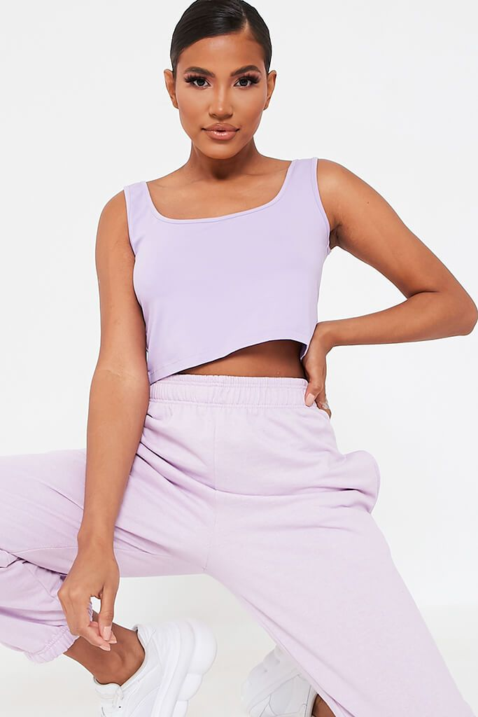 Lilac Basic Bralet view main view