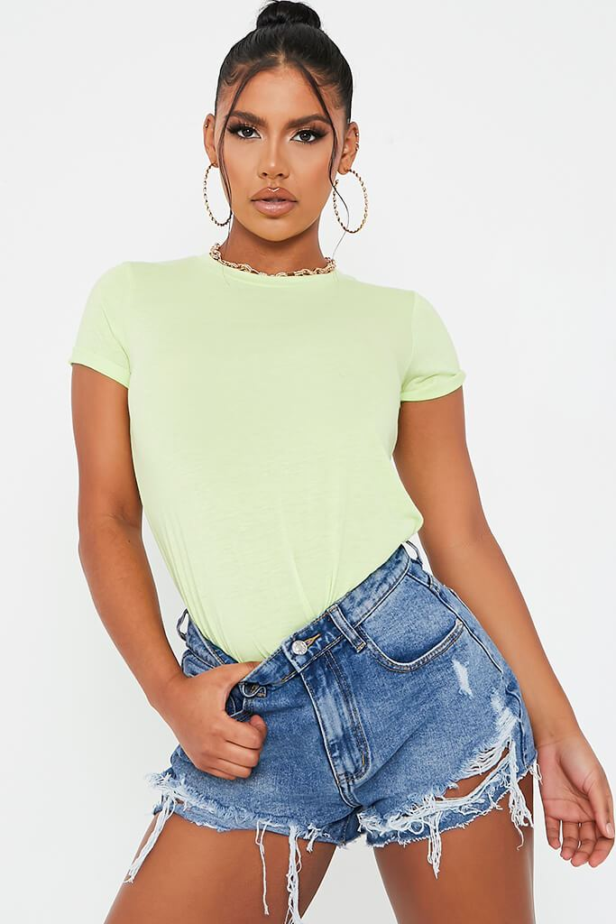 Lime Green Short Sleeve Tshirt
