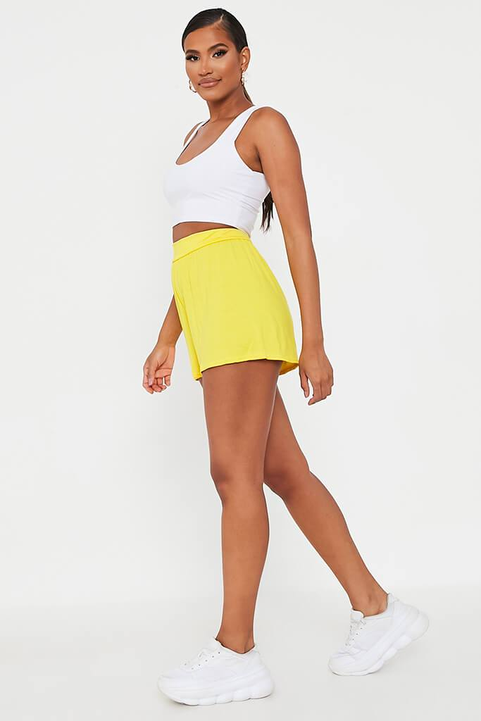 Lemon Loose Flippy High Waisted Short view 3