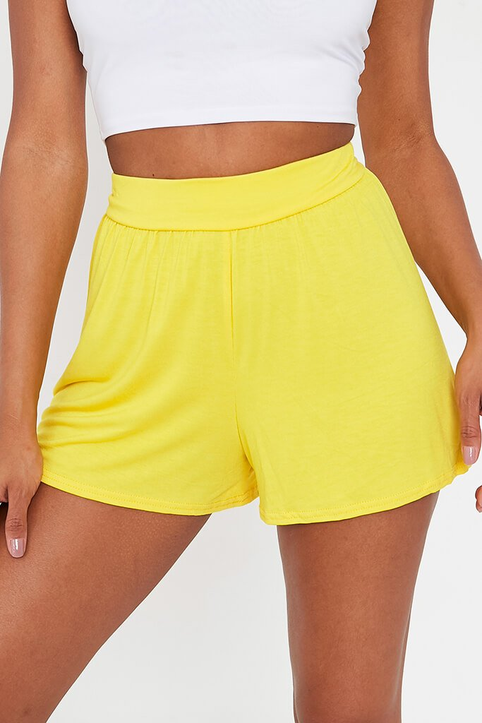 Lemon Loose Flippy High Waisted Short view 4
