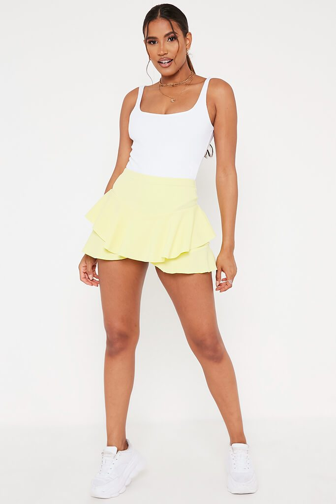 Lemon Ruffle Skorts view 2