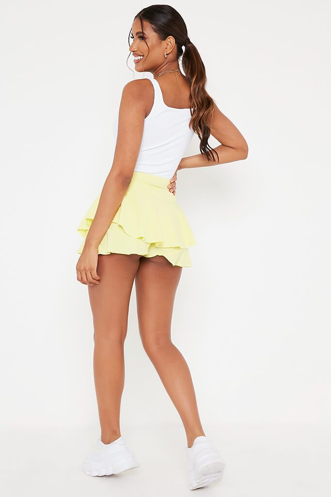 Lemon Ruffle Skorts view 5