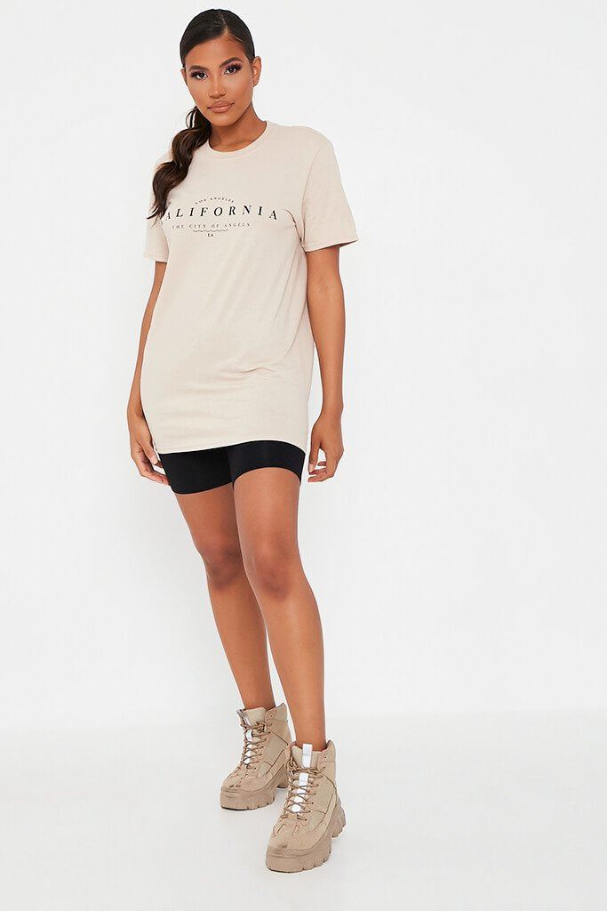 Stone California Graphic Print Oversized T-Shirt view 2