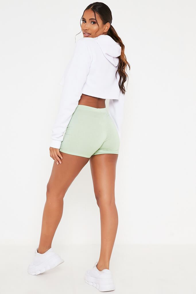 Sage Crop Cycling Shorts view 5