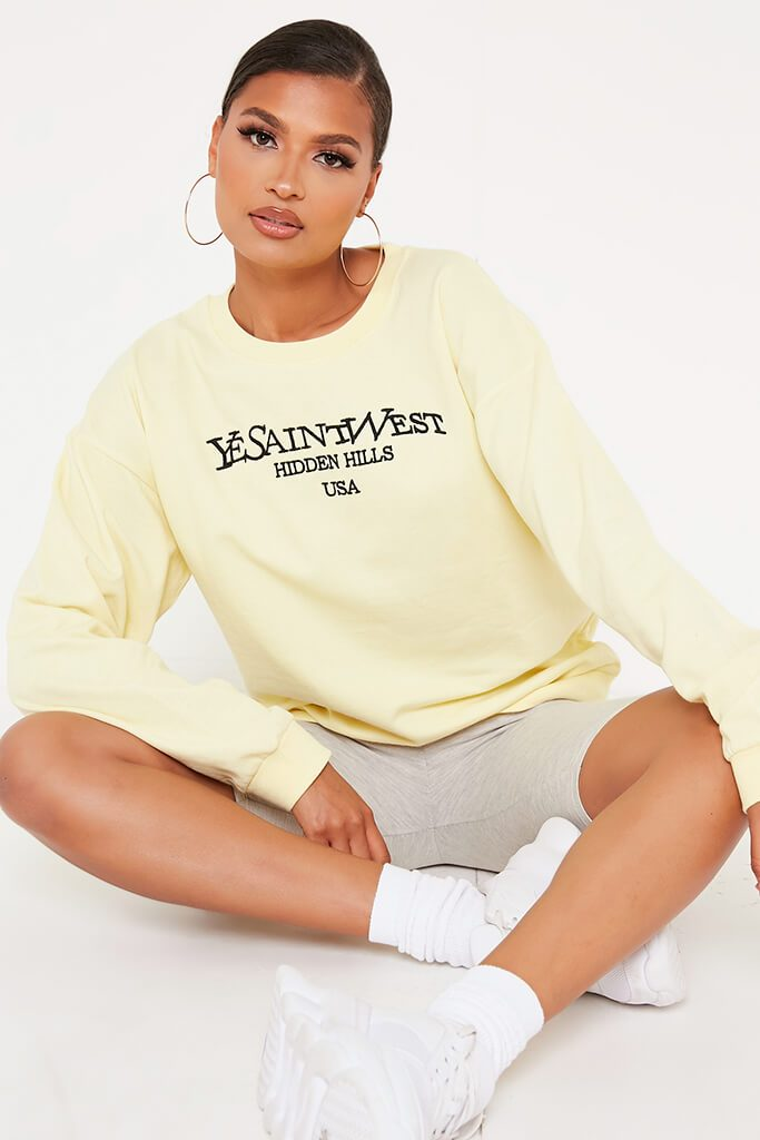 Lemon Yesaintwest Sweater