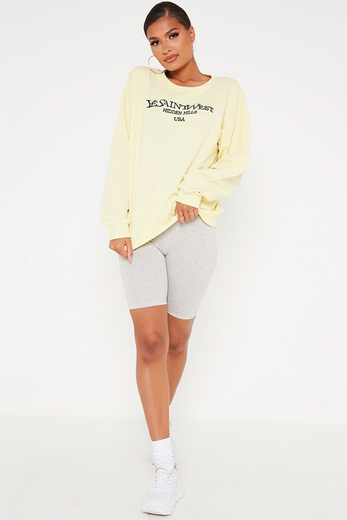 Lemon Yesaintwest Sweater view 2