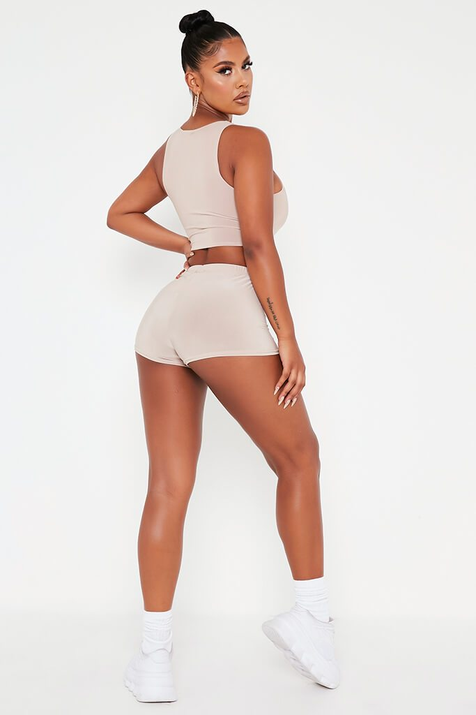Stone Slinky Crop Cycling Short view 4