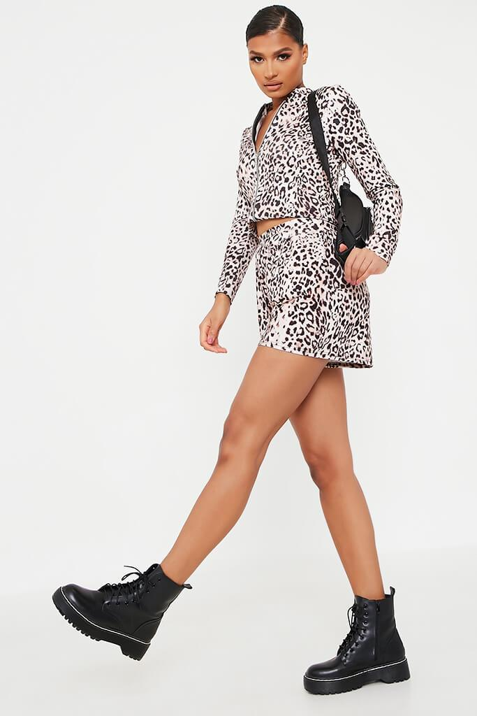 Leopard Printed Lightweight Bomber view 3