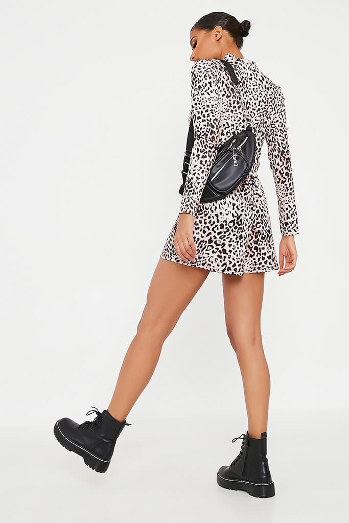 Leopard Printed Lightweight Bomber view 5