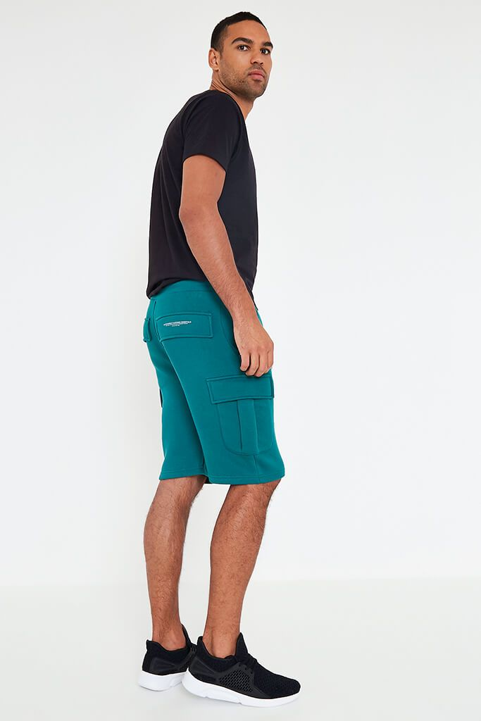 Teal Men's Handley Juice Combat Shorts view 5
