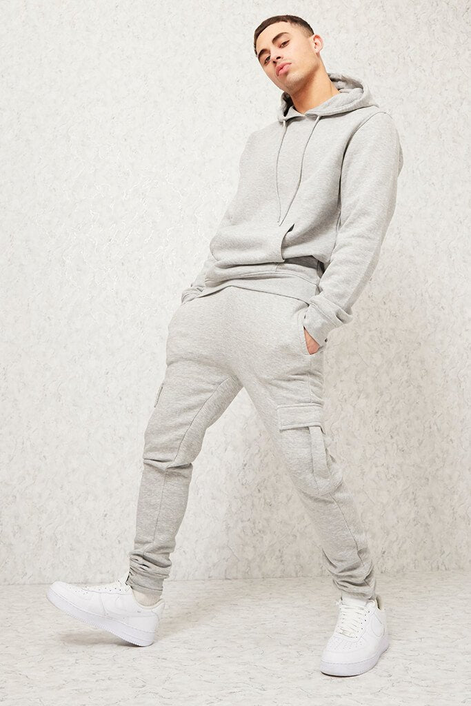 Light Grey Men's Dawsons Joggers view main view