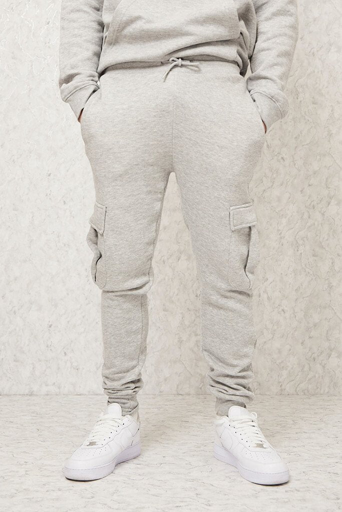 Light Grey Men's Dawsons Joggers view 2