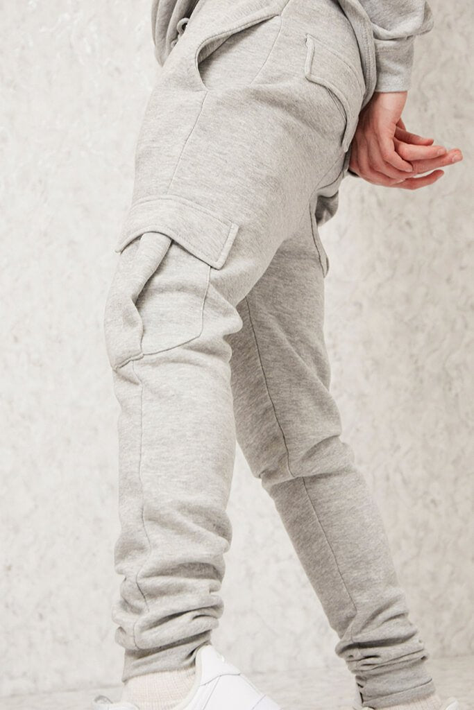 Light Grey Men's Dawsons Joggers view 5