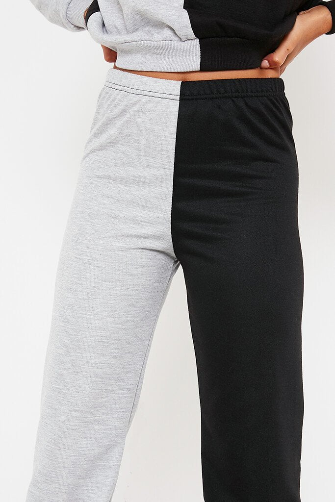 Black Contrast Jogger view 5