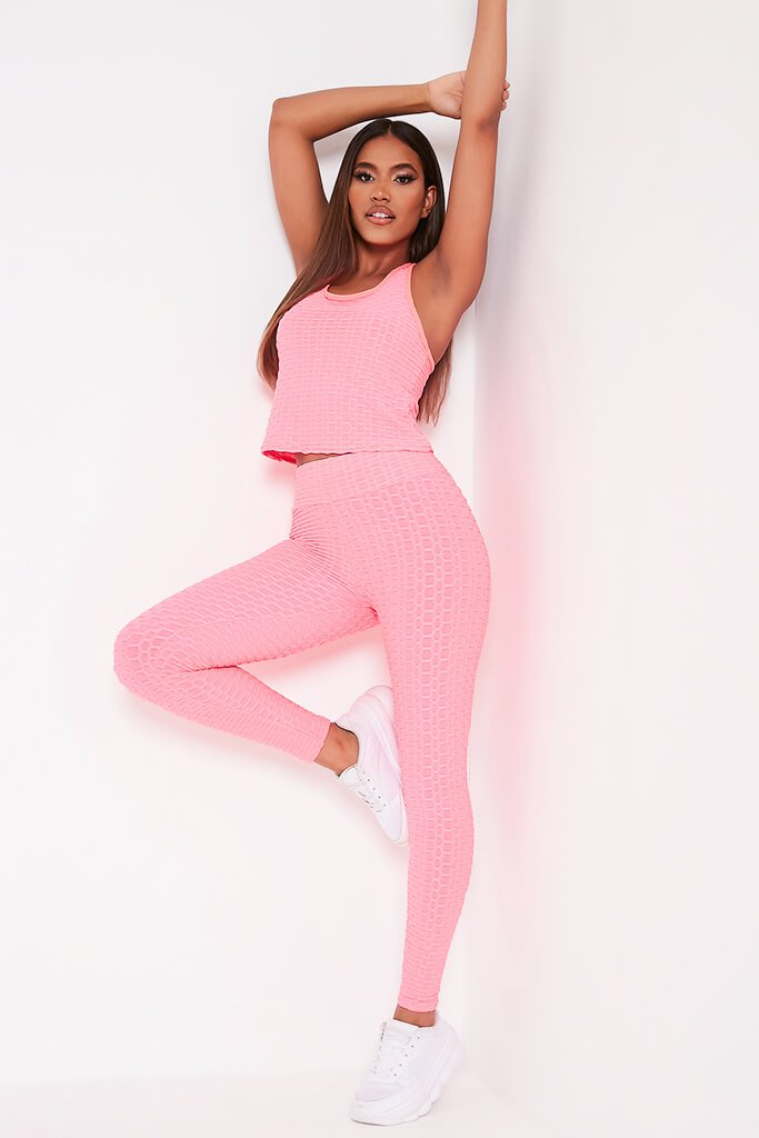 Pink Legging And Top Set