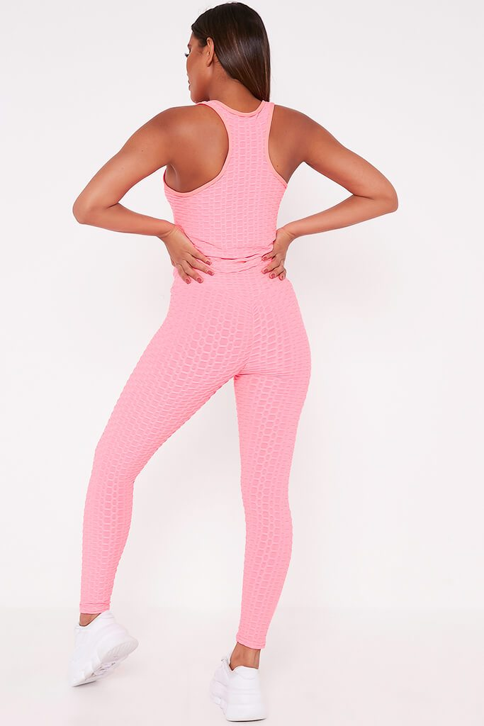 Pink Legging And Top Set view 5