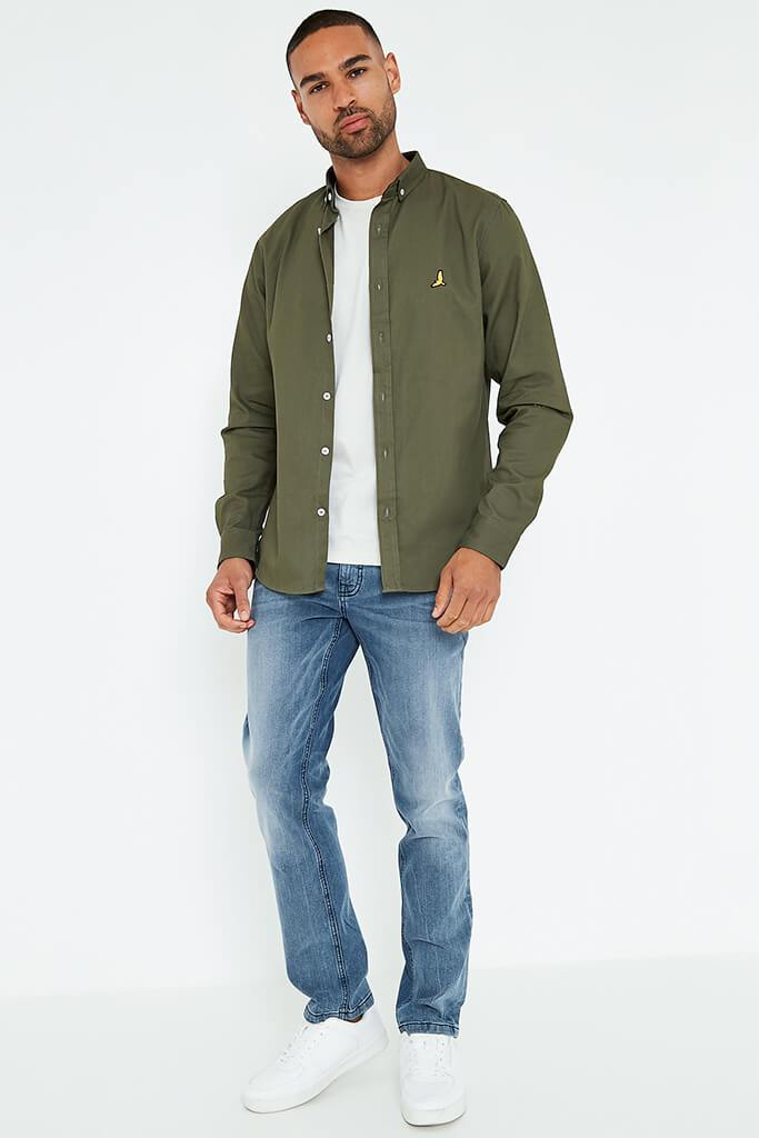 Khaki Men's Brave Soul Men's Shirt view main view