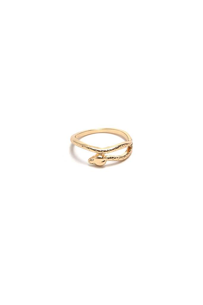 Gold Stack Ring Pack view 5