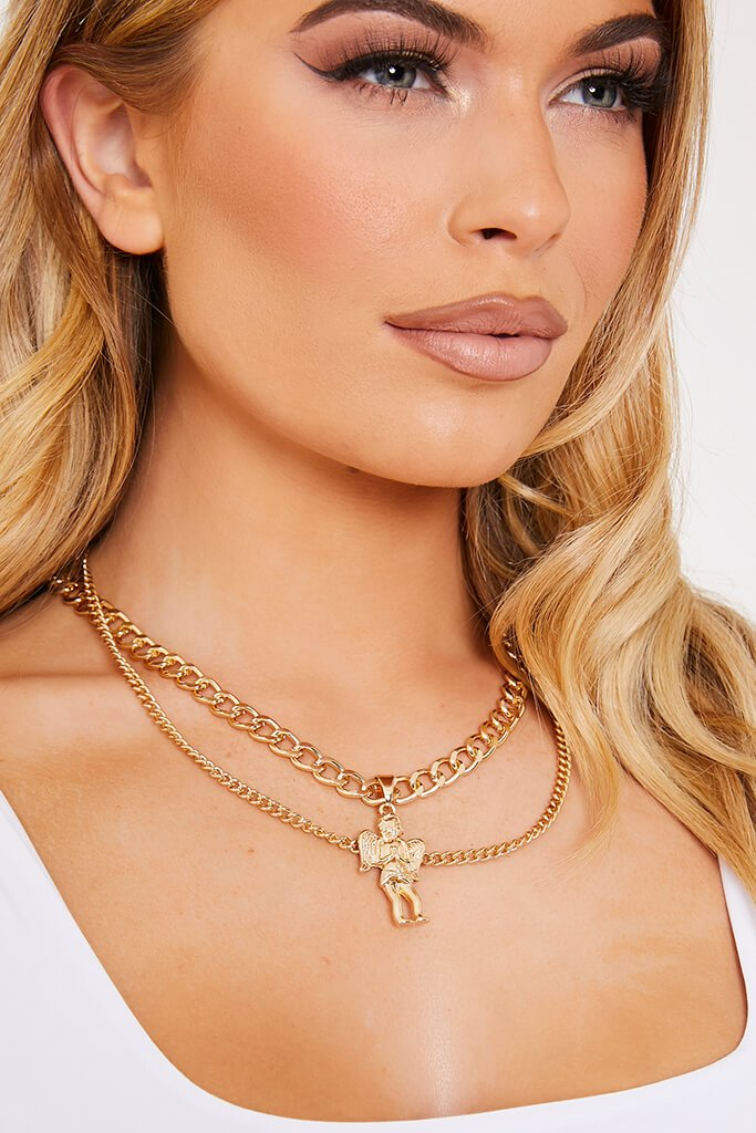 Gold Renaissance Chain Necklace