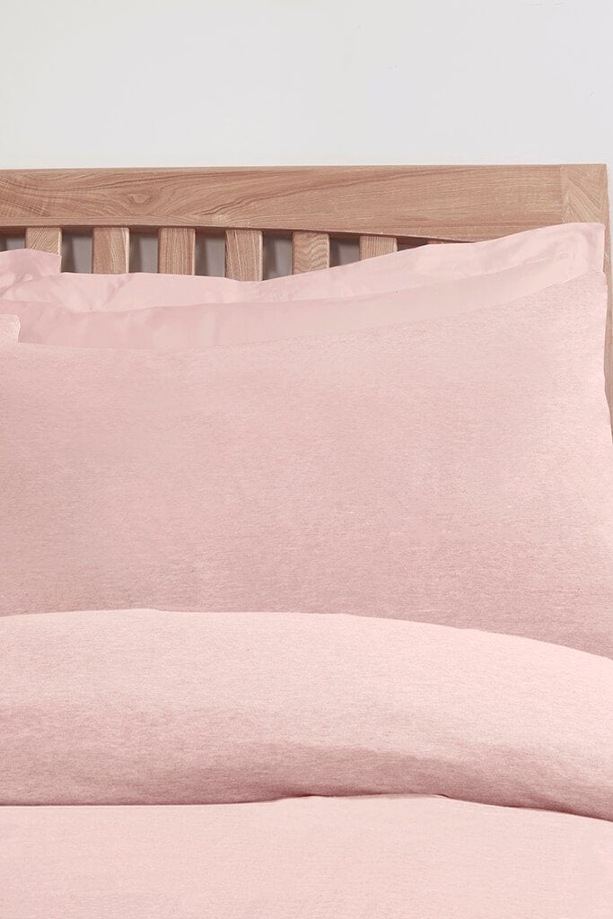 Pink Single Set Jersey Bedding view 2