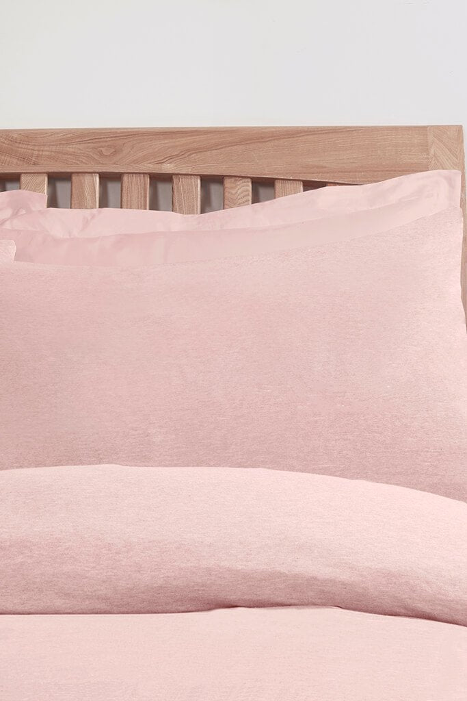 Pink Jersey Pillowcase Set