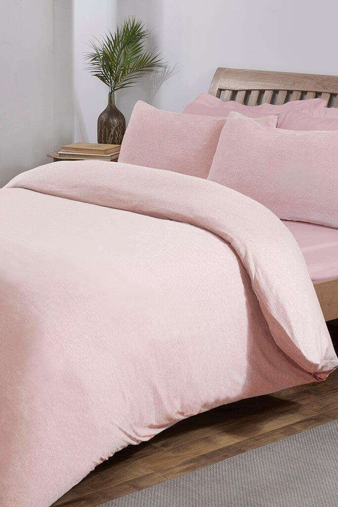 Pink Jersey Pillowcase Set view 2
