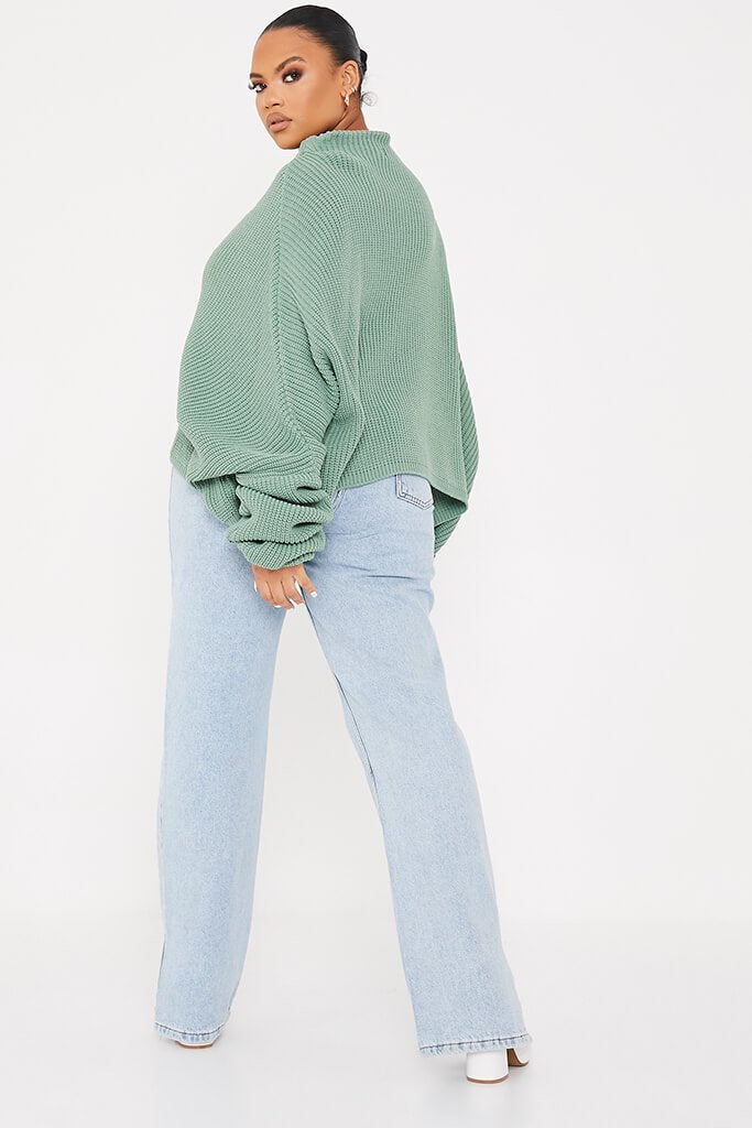 Sage Plus Slouchy Jumper view 4