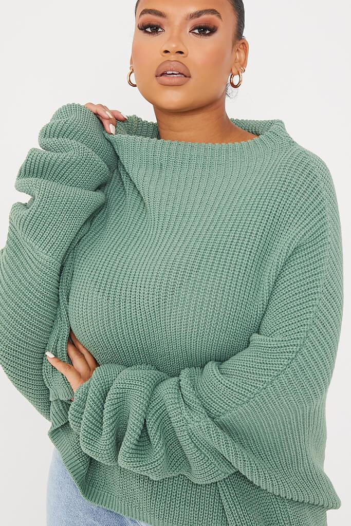 Sage Plus Slouchy Jumper view 5