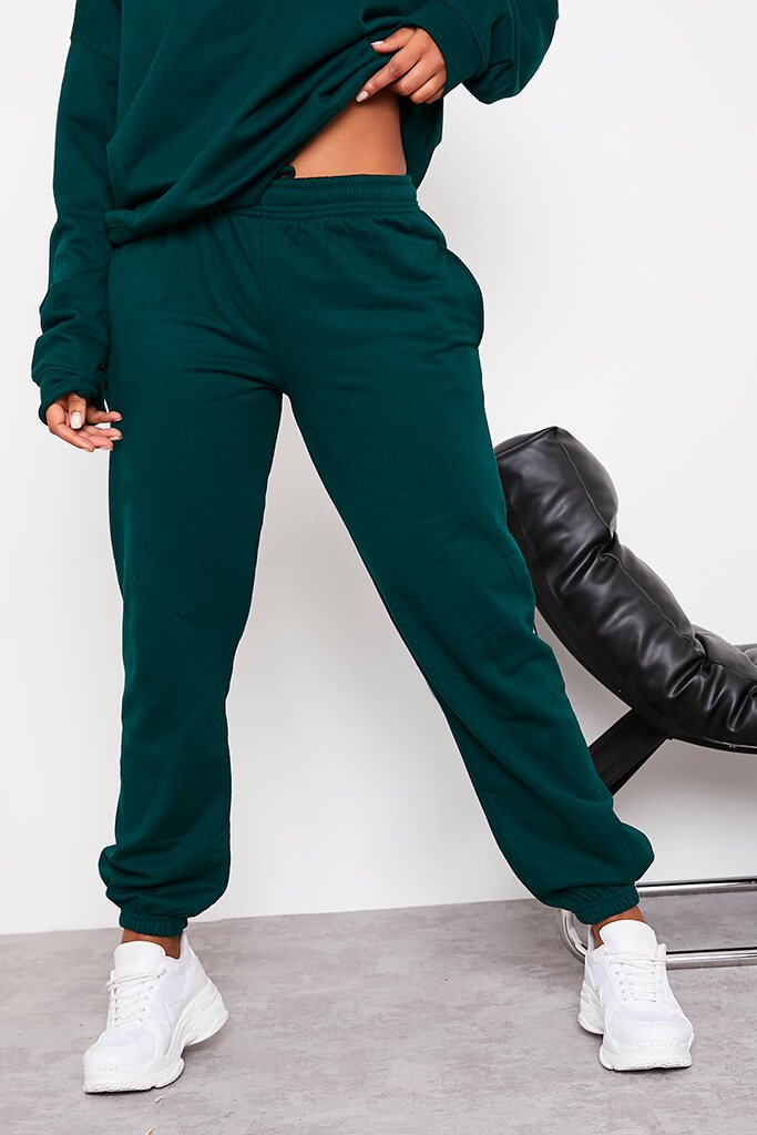 Bottle Green Ultimate Oversized Jogger view 2