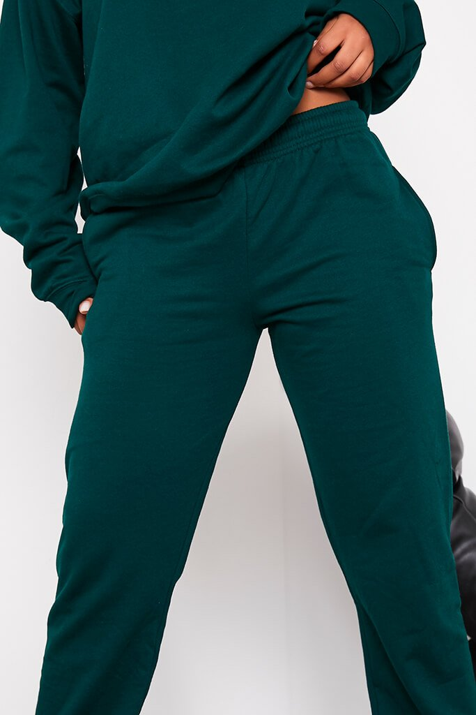 Bottle Green Ultimate Oversized Jogger view 5