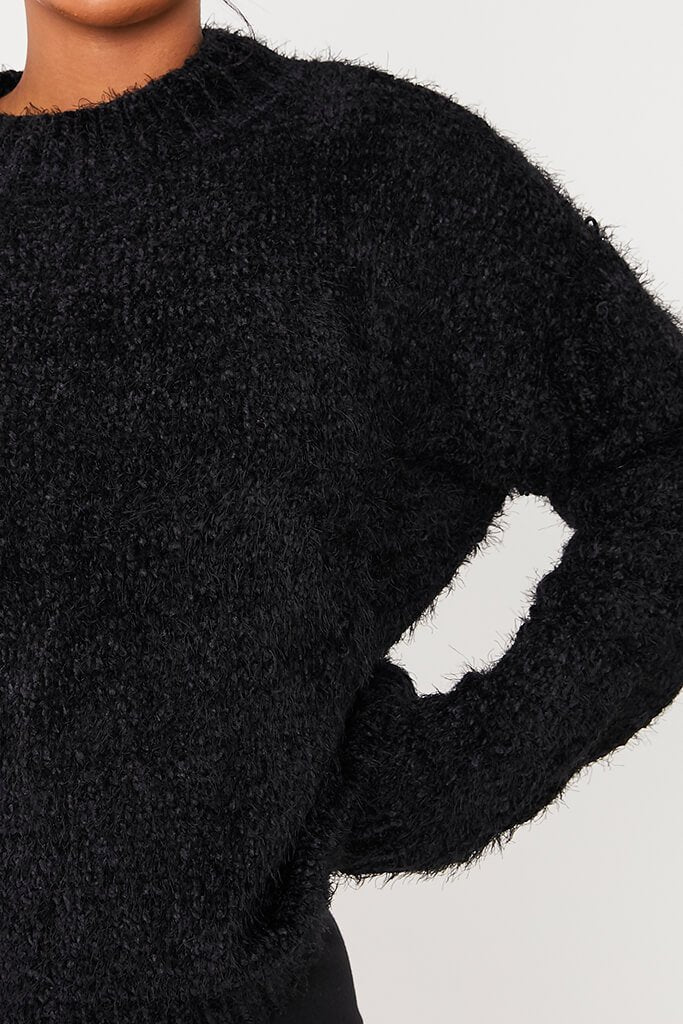 Black Chenille Jumper view 5