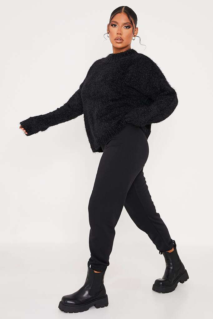 Black Chenille Jumper view 3