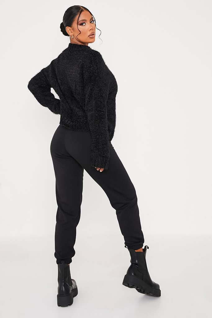Black Chenille Jumper view 4