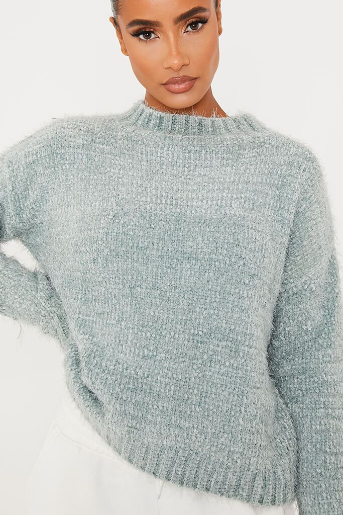 Green Chenille Jumper view 5