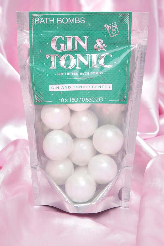White Gin And Tonic Bath Bombs