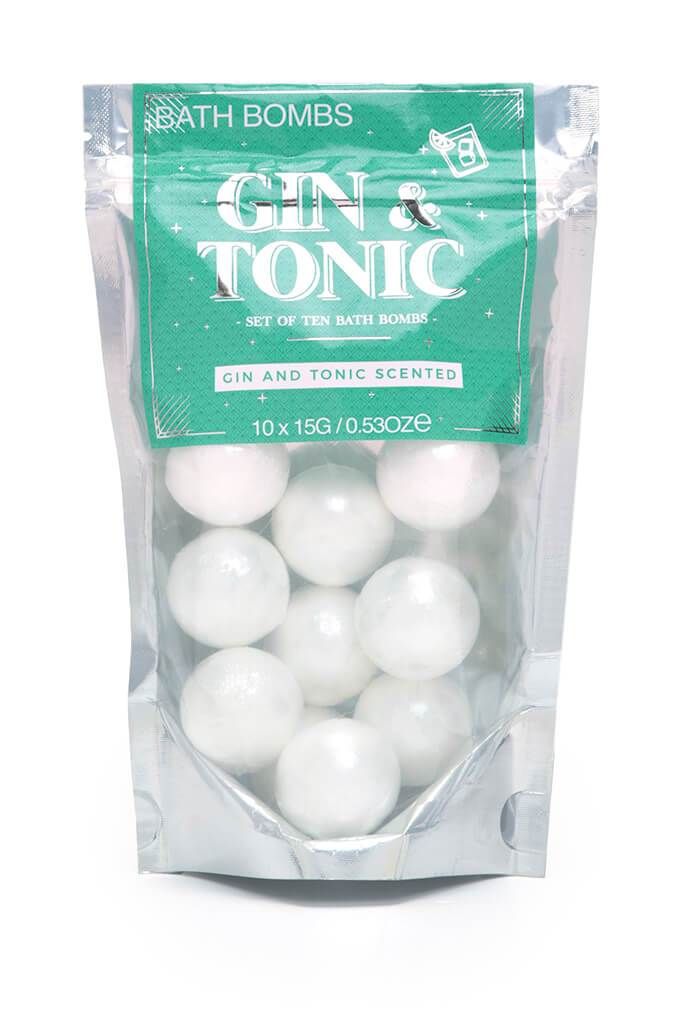 White Gin And Tonic Bath Bombs view 3