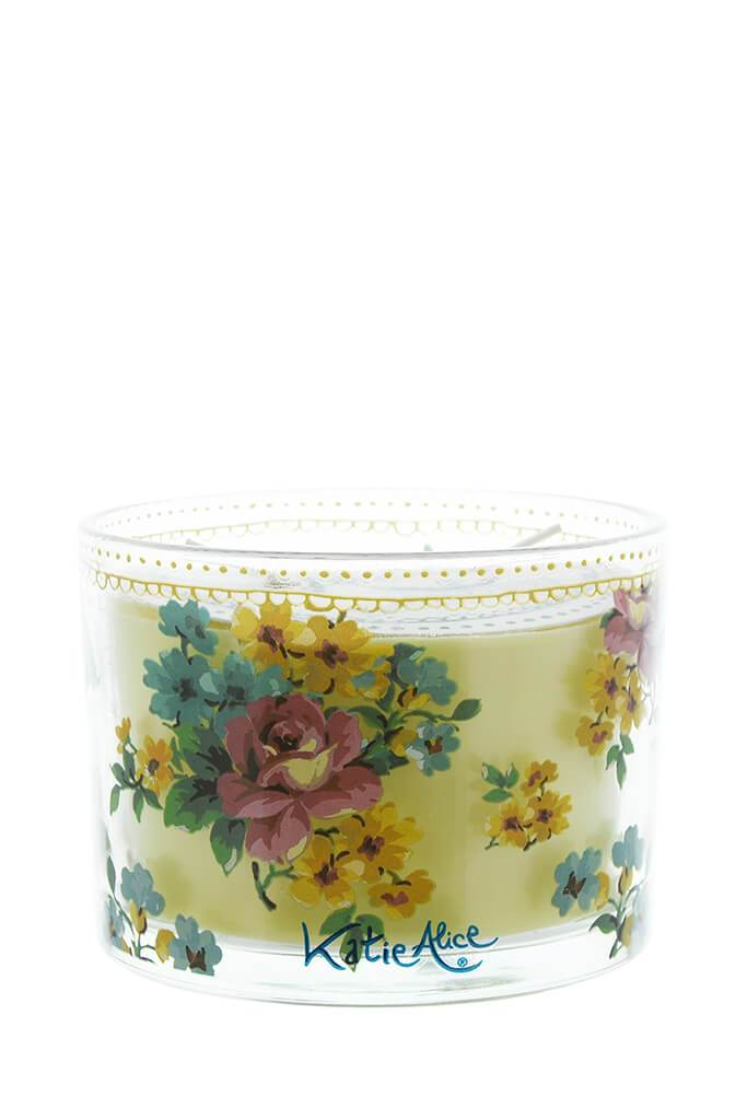 White Katie Alice Bohemian Spirit Soy Wax Candle