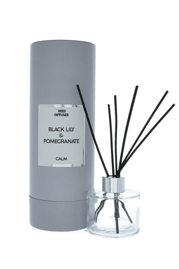Grey Black Lily Reed Diffuser 150ml Tube