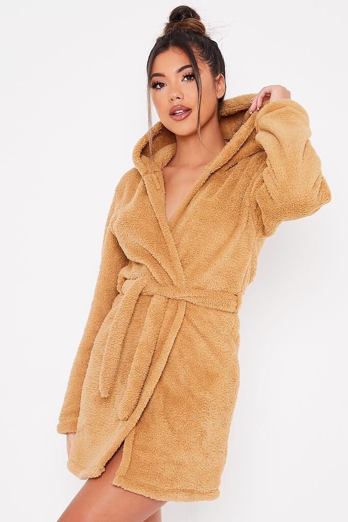 Stone Teddy Ears Dressing Gown