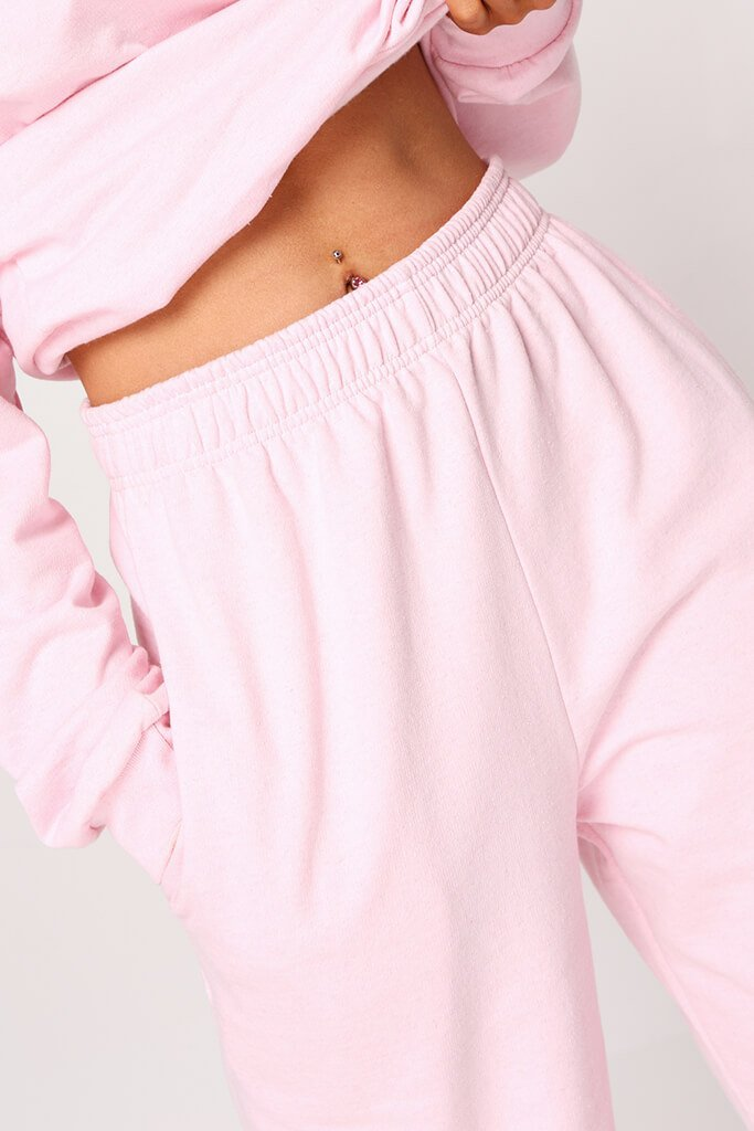 Pink Essential Jogger view 5