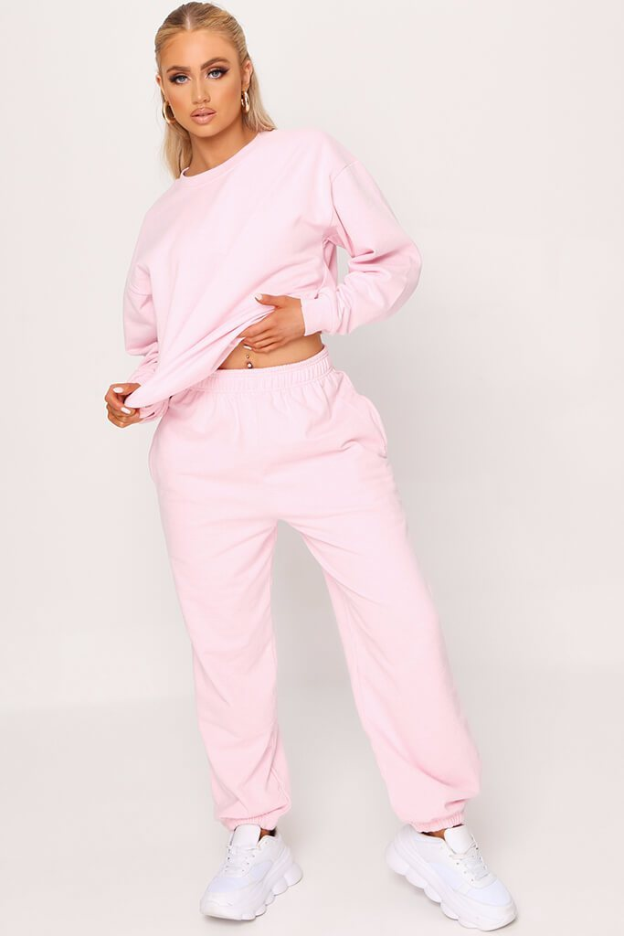 Pink Essential Jogger