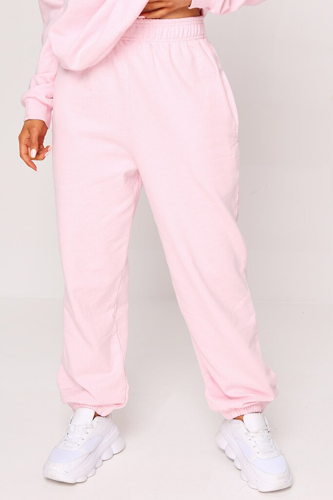 Pink Essential Jogger view 2