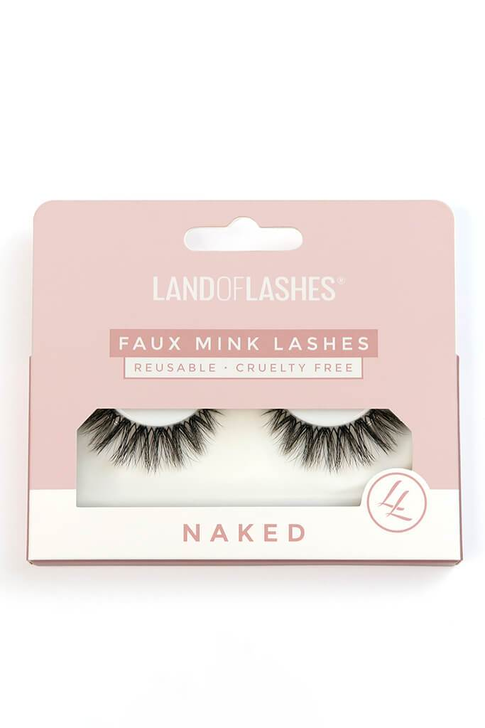 Land Of Lashes Faux Mink Cruelty Free Lashes Naked Collection #5