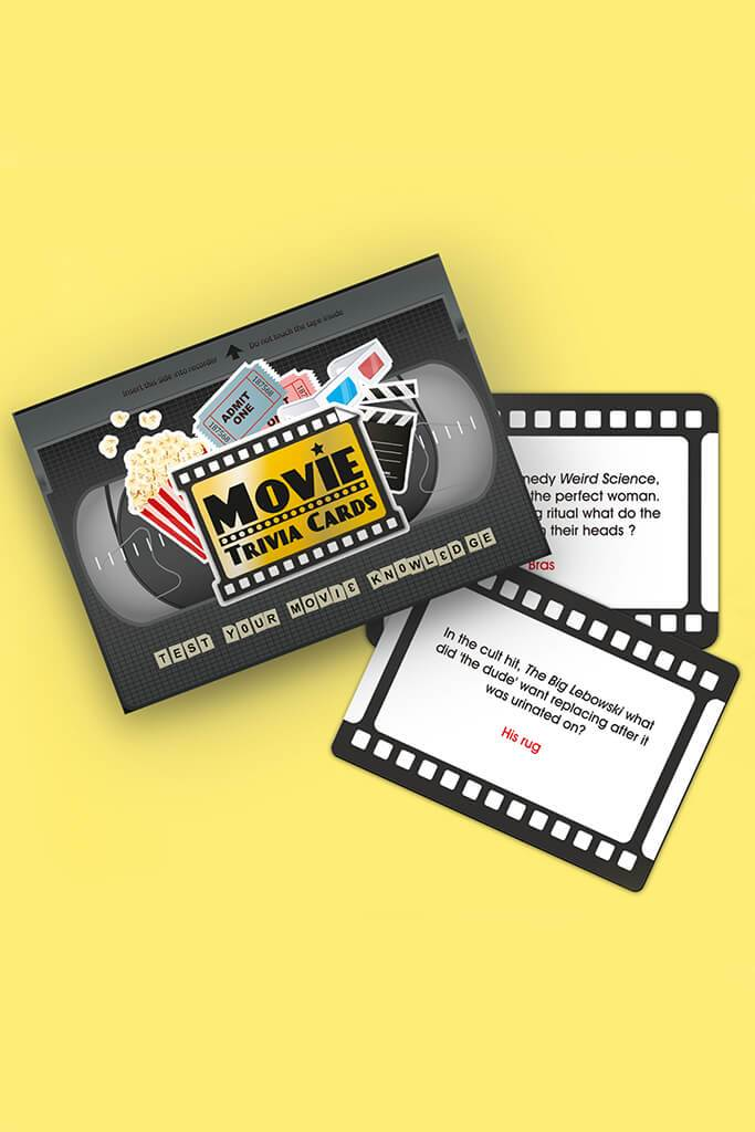 Multi Movie Trivia Cards view main view