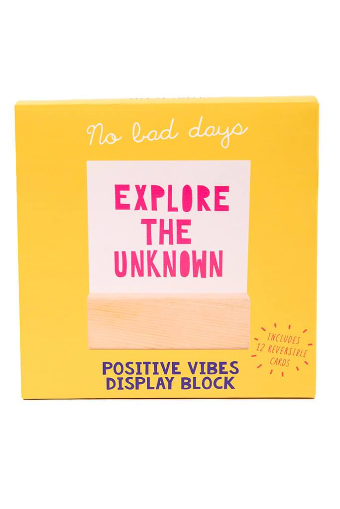 Multi Positive Vibes Display Block view 5