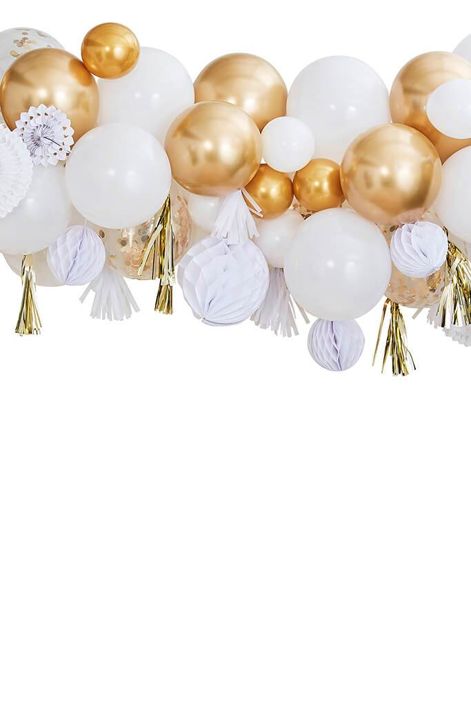 Gold Ginger Ray Metallic Fancy Balloon Garland view 2