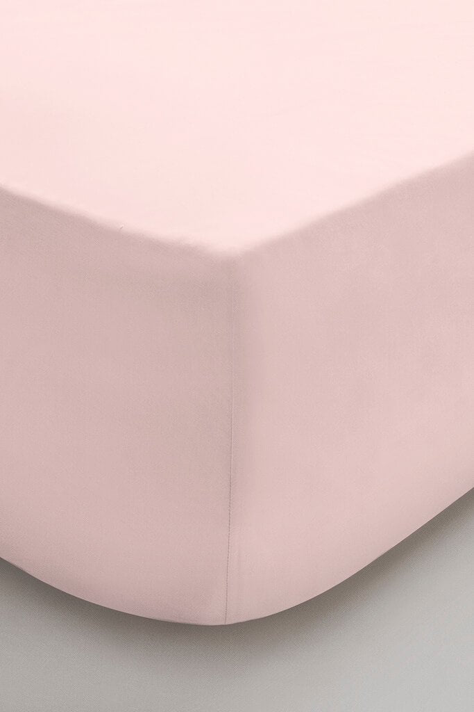 Blush Pink Single Fitted Sheet view 2