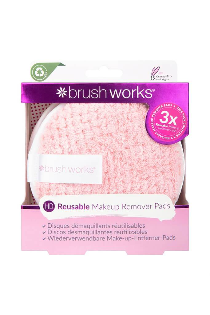 Brushworks HD Reusable 3 Pack Makeup Remover Pads view 5