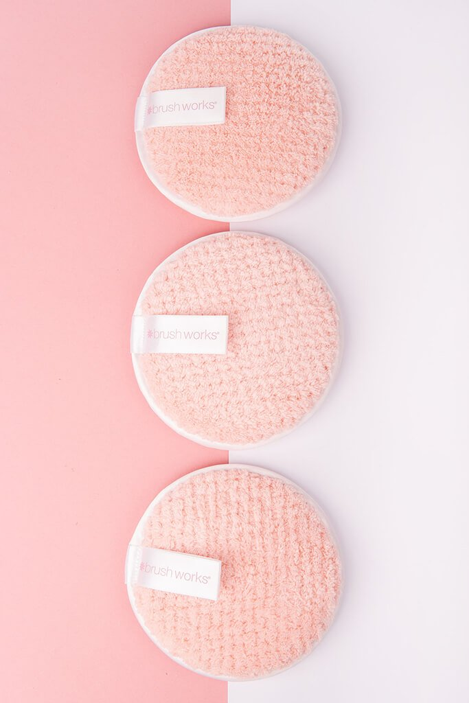 Brushworks HD Reusable 3 Pack Makeup Remover Pads view 2