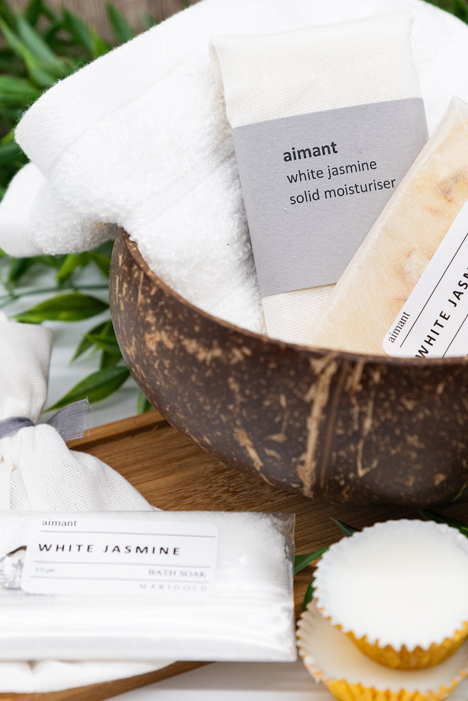 Amber Organic Letterbox Spa Collection – Vegan